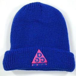 Nike NikeLab ACG Adult Unisex One Size Beanie Winter Hat Blu