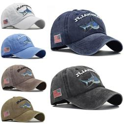 Men's Baseball Cap Snapback Fishing Hat Fashion Women Embroi