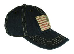 POLO Ralph Lauren Men's Denim Blue USA Flag Logo Basball Cap