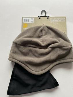 Carhartt Men's Fleece 2 In 1 Hat/Face Mask One Size Driftwoo
