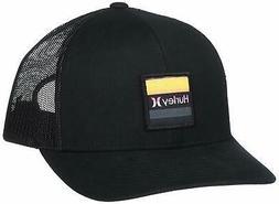 Hurley Men's Overspray Trucker Hat Cap - Black