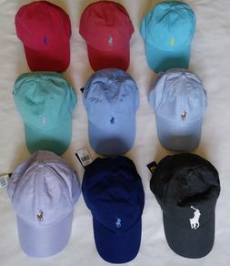 Polo Ralph Lauren Men's Women's Unisex Baseball Cap Hat One
