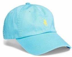 Polo Ralph Lauren Men/Women Cap Cotton Twill Pony Logo - Mul