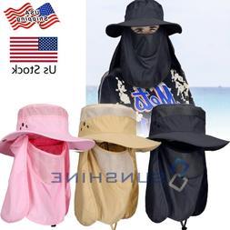 Men Women Outdoor Protection UV-Proof Windproof Fishing Hiki