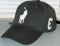 mens big pony chino baseball cap hat