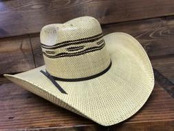Stetson Men's Cowboy Straw Hat La Grange 4X  4-1/4 Brim  5