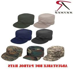 Military Style Fatigue Hat Adjustable USMC Army Field Patrol
