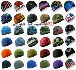 Moisture Sweat Wicking Cooling Bald Dome Skull Cap Helmet Li