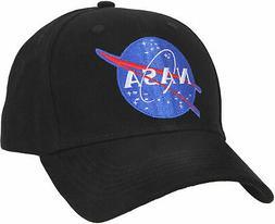 NASA Low Profile Baseball Cap Hat Ballcap US Space Agency Bl