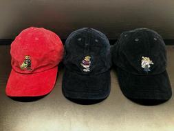 NEW Polo Ralph Lauren Kids Bear HAT Corduroy Boys Hat Cap AL