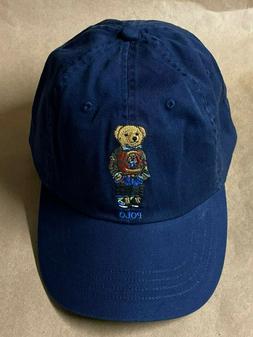 NEW Polo Ralph Lauren Men's Hiking Bear Baseball Cap Hat New
