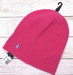 NEW NWT Polo Ralph Lauren Women's Solid Pink Wool Pony Waffl