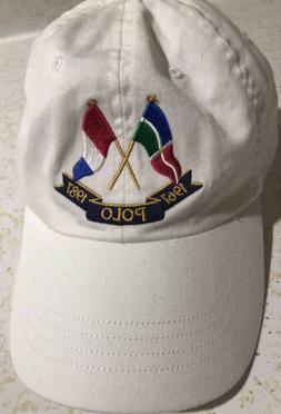 NWT Polo Ralph Lauren CP-93 Cross Flags Anniversary Cap Hat