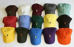 NWT Mens Polo Ralph Lauren Pony Logo Sports Baseball Cap Hat