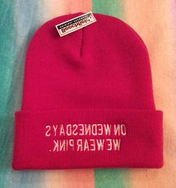 NWT Beechfield Original Headwear Woman's Beanie Hat On Wedne