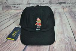 NWT TODDLER BOYS POLO RALPH LAUREN BLACK HAT BASEBALL CAP SN