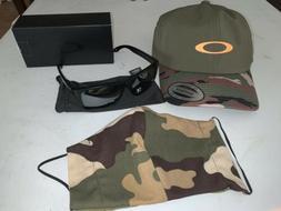 Oakley Holbrook Sunglasses Polarized, Hat And Face Mask Bund