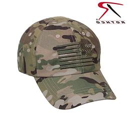 Rothco Operator Tactical Cap with US Flag, Multicam