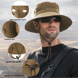 Outdoor Sun Visor Hat UV Protection Cap Hiking Fishing Trave