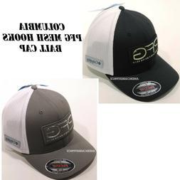 COLUMBIA PFG MESH HOOKS NEW MEN'S FITTED BALL CAP/HAT FLEXIF