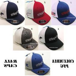 COLUMBIA PFG MESH NEW MEN'S FITTED BALL CAP/HAT FLEXIFIT NWT