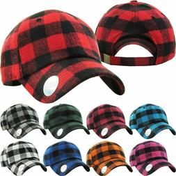 KB Ethos Plaid Flannel Baseball Cap Hat Caps Hats Hunting Vi