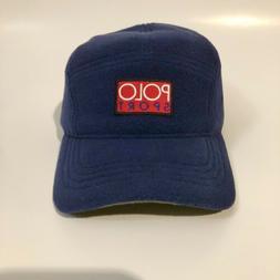 Polo Ralph Lauren  Polo Sport Fleece 5-Panel Cap Hat Navy O/