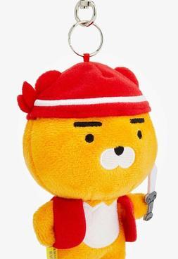 "KAKAO  Friends  "" RYAN  Red Hat "" Full Size Mini Key Chain /"