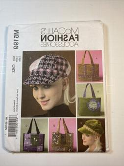 McCalls Pattern M5199 Handbags and Hats NEW Uncut