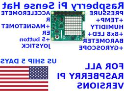 Raspberry Pi Sense 6 sensor HAT For All Raspberry Pi 4 versi