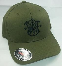 Smith Wesson FLEXFIT Yupoong OLIVE GREEN Available S/M or L/