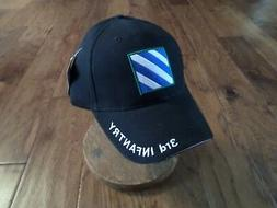 U.S.MILITARY ARMY 3RD INFANTRY DIVISION HAT CAP BASEBALL STY