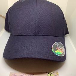 RICHARDSON UMPIRE P43 LG-XL NAVY BLUE FITTED HAT CAP MEN 6 P