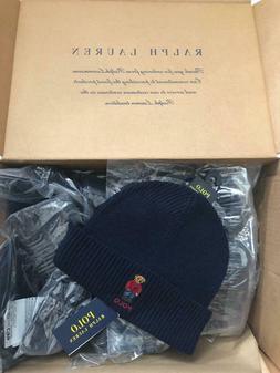 Polo Ralph Lauren Unisex Bear Design Wool Winter Skulllie Ca