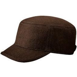 Beechfield Unisex Melton Wool Blend Cadet/Army Cap