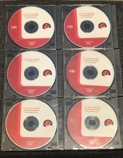 VINTAGE RED HAT LINUX 7.3 INSTALLATION SET OF 6 CD DISKS --