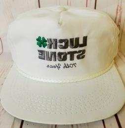 Vtg 90's Luck Stone Hat Cap 70TH YEAR ANNIVERSARY K-PRODUCTS