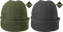 warm gore tex fabric military knit watch