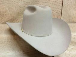 Stetson Western Wear Cowboy 100x Mist Grey El Presidente Bea