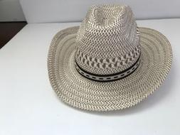 Women's Fair Weather Accessories Straw Like Panama Hat Bla