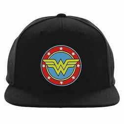 Wonder Woman Justice League Snapback, Birthday Gift Embroide
