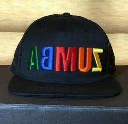 Zumba Varsity Adjustable Snapback Hat - NWT - Unisex